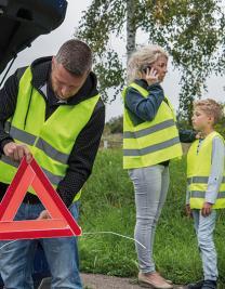 Warnwesten KfZ Family-Pack EN ISO 20471
